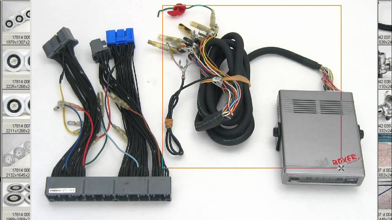 maxresdefault field vtec mivec & fuel controller harness obd2 civic integra field wiring harness at gsmportal.co