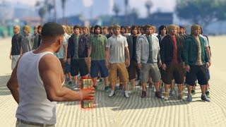 CAN A STICKY BOMB KILL 100+ PEOPLE IN GTA 5?