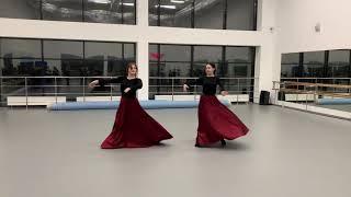 Наши ученицы! Аджарский танец