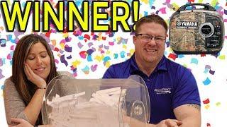 Yamaha Giveaway WINNER!!!