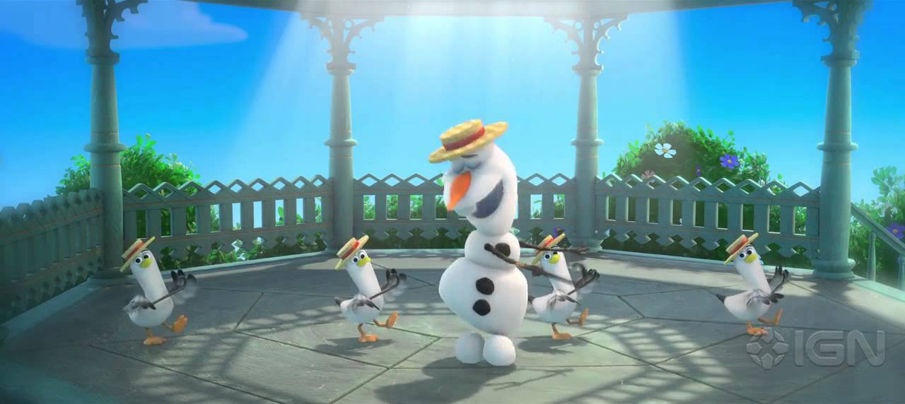 Frozen - Olaf's Summer Song - YouTube