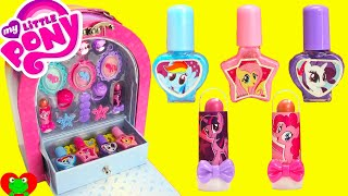 My Little Pony Makeup Case Nail Polish Lip Gloss Surprises