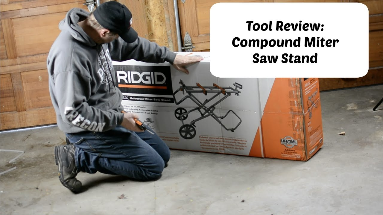 Ridgid 12 Inch Miter Saw With Stand