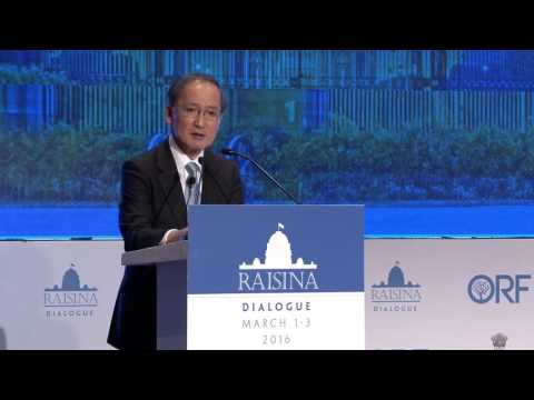 Raisina Dialogue 2016  | Keynote Address by Deputy Foreign Minister of Japan Mr. Yasumasa Nagamine