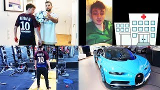 Krankenhaus, Bugatti Chiron, Gym - Kreuzheben, PSG vs. Real | Ein Tag mit ViscaBarca