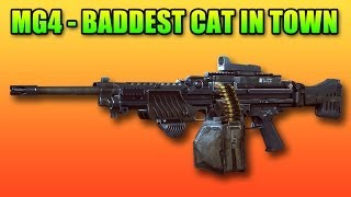 MG4 Review: The Ultimate Aggresive LMG (Battlefield 4 Gameplay/Commentary)