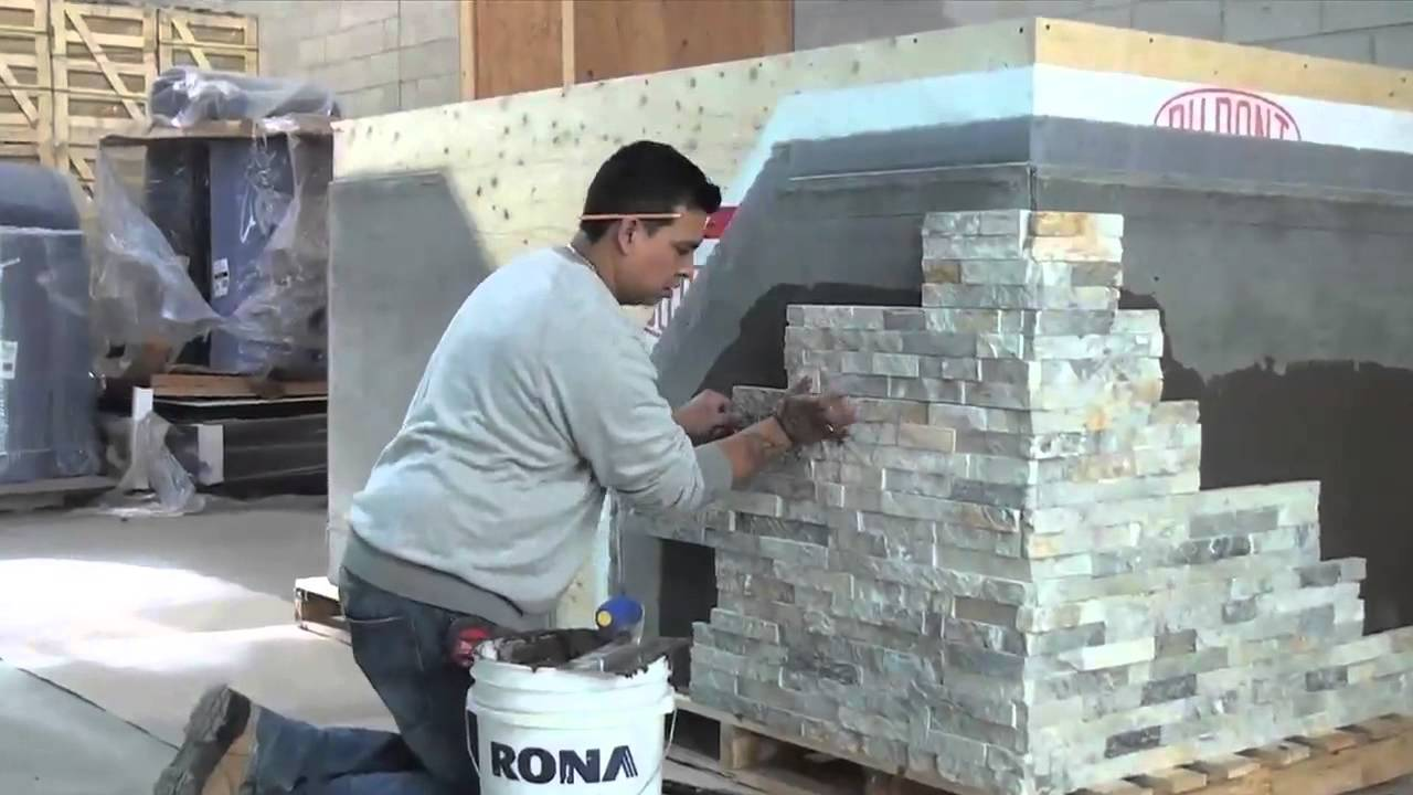 How To Install Erthcoverings Natural Stone Panels Youtube