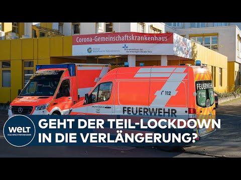 Corona-Lockdown - Verschärfung und Verlängerung erwartet