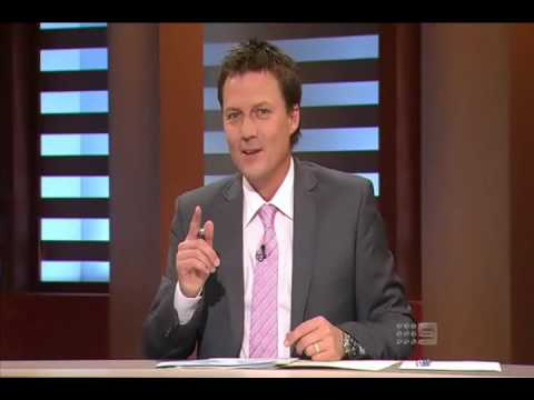 The Footy Show (AFL): Garry Lyon's First appearance on the show (2010)