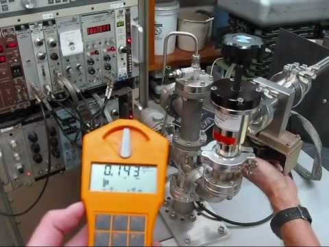 homemade fusor (nuclear fusion reactor) - neutron and x-ray radiation, silver activation