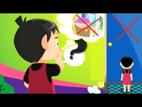 Teach children About Safety Tips | NEVER OPEN THE DOOR FOR STRANGER | Educational Game for Kids