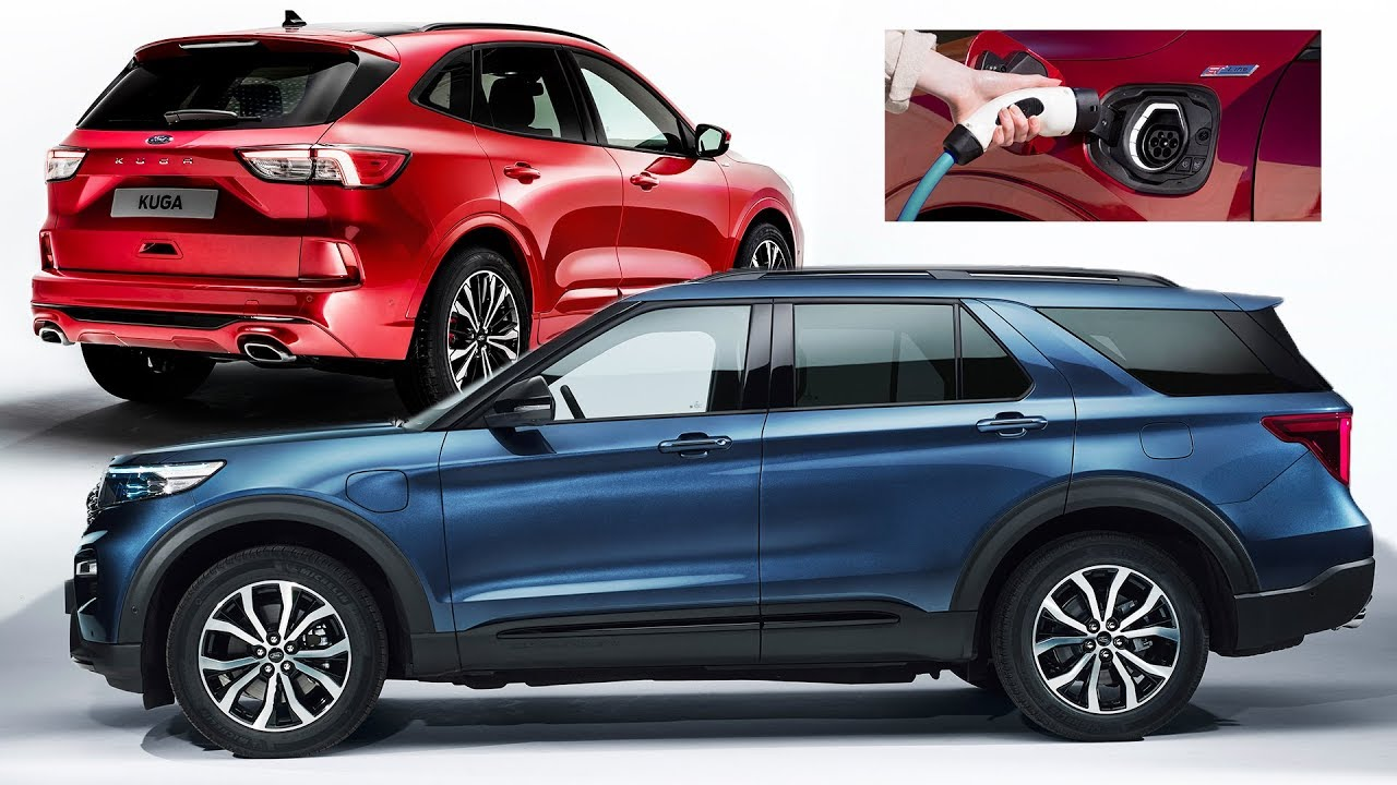 neuer  ford explorer ford kuga hybrid hands  ford  electric youtube