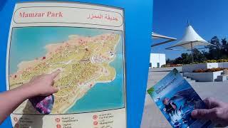 Аль Мамзар платный пляж и парк, Дубай, ОАЭ / Al Mamzar, Dubai, UAE / обзор пляжа