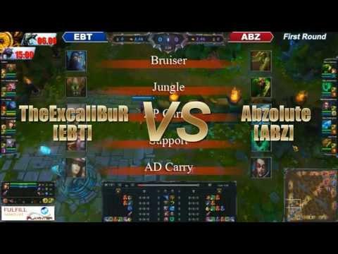 LOL Pro League Hightlight : EBT vs ABZ