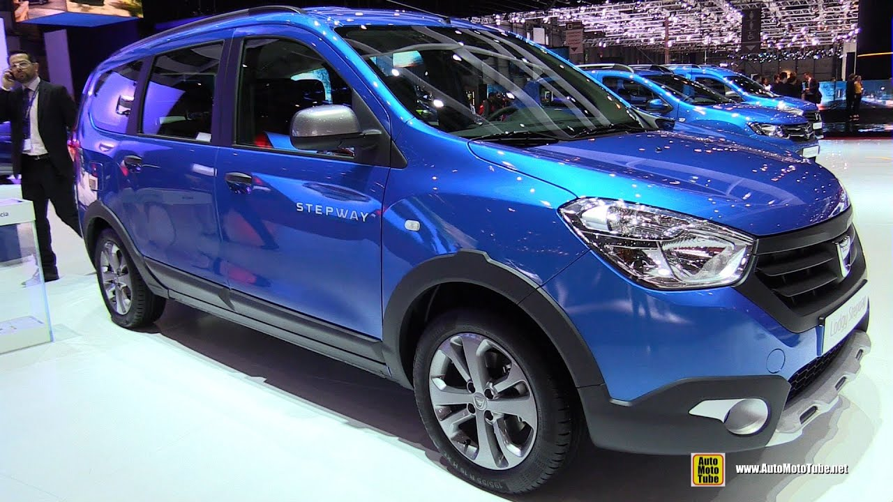 2015 dacia lodgy stepway exterior and interior walkaround 2015 geneva motor show youtube. Black Bedroom Furniture Sets. Home Design Ideas