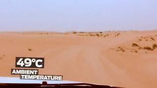 Ford Ranger T6 Heat Test