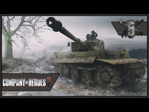 Tiger Ace on General, This is INSANITY! - Company of Heroes