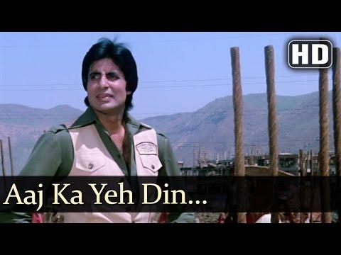 Aaj Ka Yeh Din (HD) - Nastik (1983)Song - Amitabh Bachchan - Hema Malini - Anand Bakshi Hits