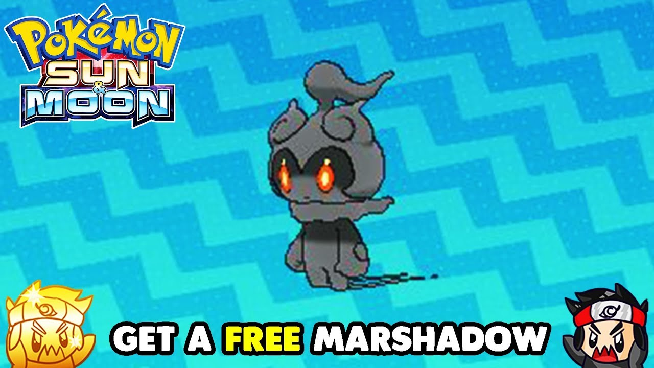 Get A Free Marshadow In Pokemon Sun And Moon Free Pokemon Event It is exclusive to pokémon moon. get a free marshadow in pokemon sun and