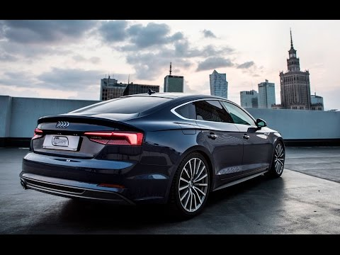 The new 2017/18 Audi A5 Sportback - in detail, exterior, interior