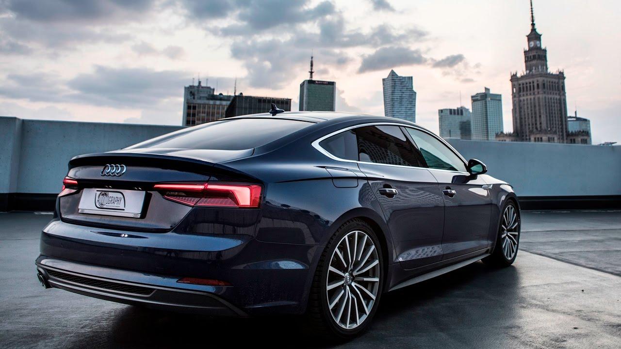 Black Metallic Wallpaper The New 2017 18 Audi A5 Sportback In Detail Exterior