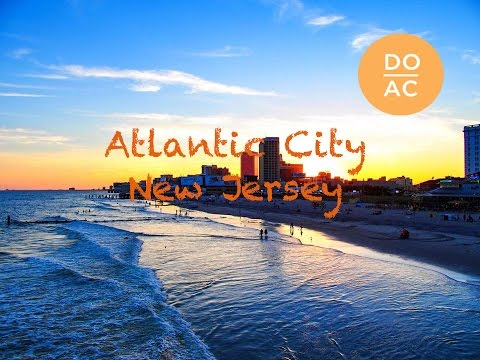 ATLANTIC CITY, New Jersey | Calvin Harris - Summer 2015 | Work and Travel Romania