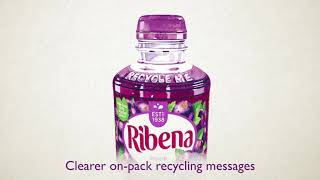 Meet the new Ribena bottle helping to turn bottles back into bottles