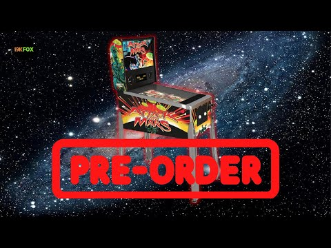 Arcade1up Attack from Mars Pinball Preorders Available!! from 19kfox