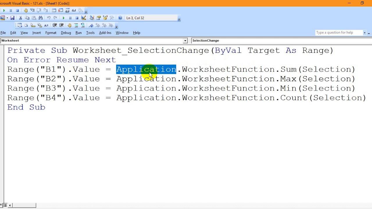 279تحديد مجال تتفعل الدالة Determine The Scope Of The React Function اكسل Excel Vba Mdr279