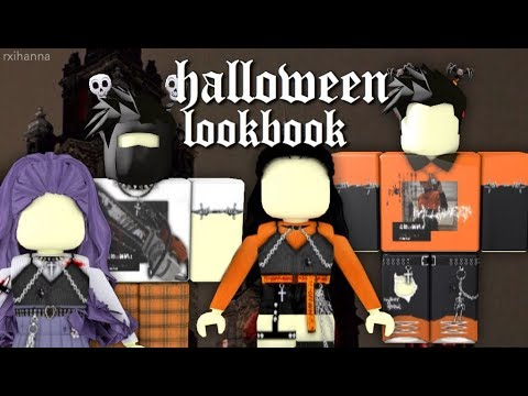 Aesthetic Halloween Roblox Gfxs Aesthetic Halloween Roblox Outfits Boys Girls Codes Youtube