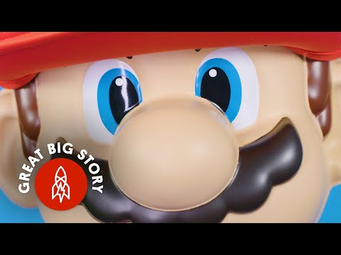 How Mario Got His Mustache and His Name