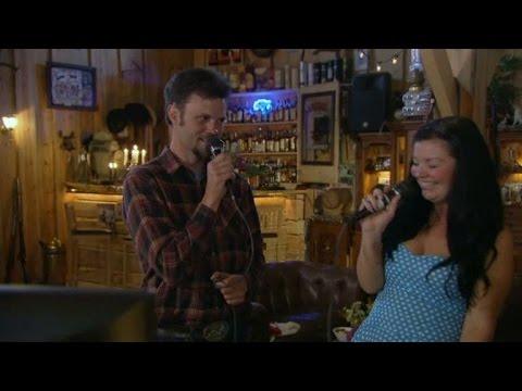 Karaoke på cowboydejten - Bonde söker fru (TV4)