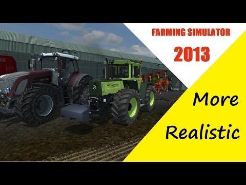 farming simulator 2013 (découverte du More Réalistic) EP 1 [multi]