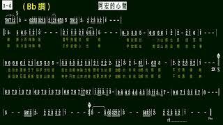 5.阿宏的心聲-洪榮宏(Bb)K 伴奏-(簡譜)