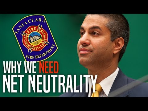 Verizon Violates Net Neutrality, Throttles CA Fire Dept. Amid Statewide Disaster