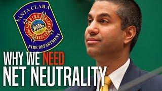 Verizon Violates Net Neutrality, Throttles CA Fire Dept. Amid Statewide Disaster