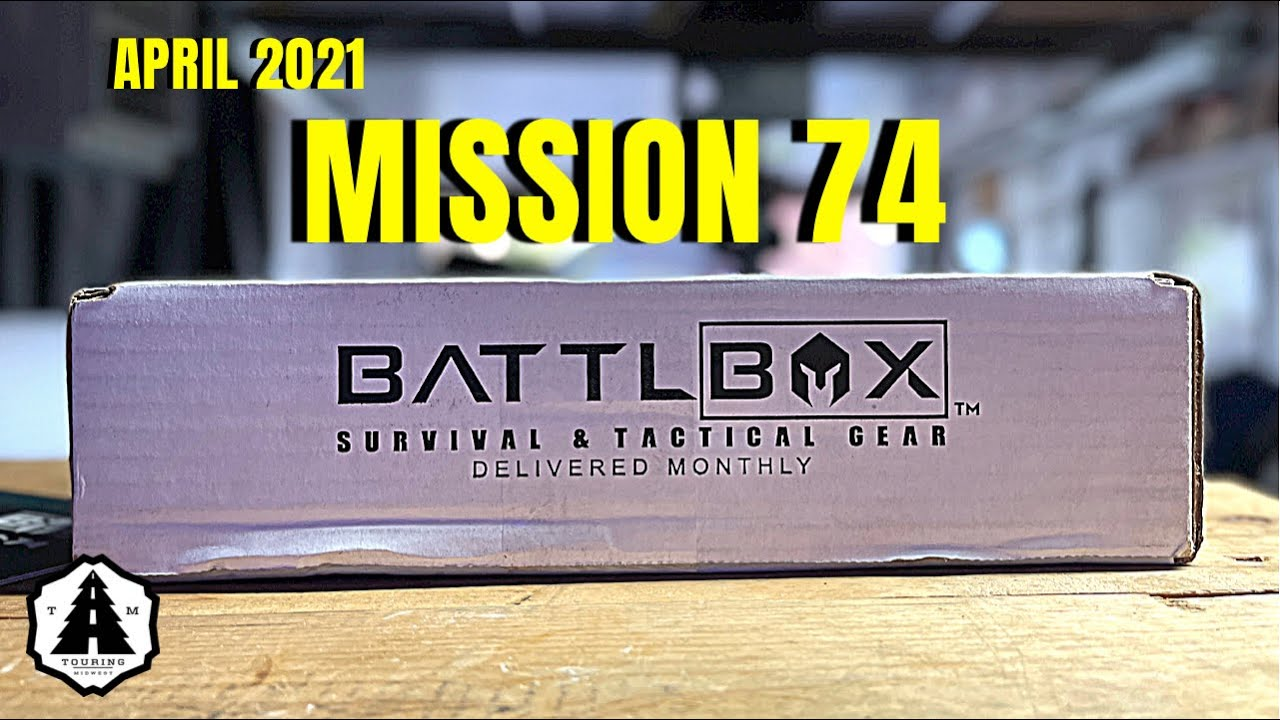Battlbox Mission 74 Monthly Mystery Box SHTF Survival & Tactical Gear