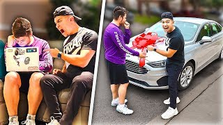 Firing My Editor, Then Surprising Him With A New Car!