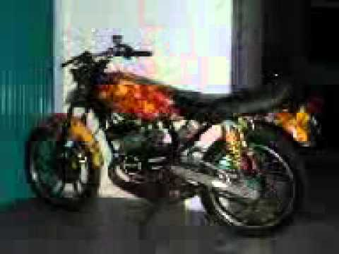 contoh modifikasi motor rx king solo 6