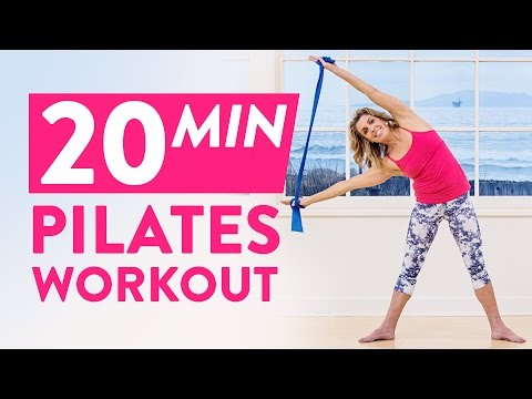20 Minute Pilates Workout - Kristi Cooper