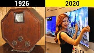 EVOLUZIONE DELLA TELEVISIONE in 4 Minuti 1926 - 2020