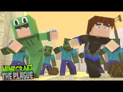 RUNNING FOR OUR LIVES FROM THE PLAGUE - Minecraft THE PLAGUE