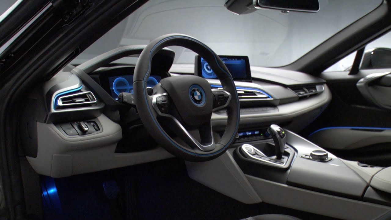 2014 Bmw I8 Interior Youtube
