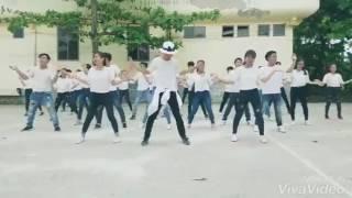 Nhảy dân vũ Bouje Lớp 12 12 Trường THPT HUỲNH NGỌC HUỆ