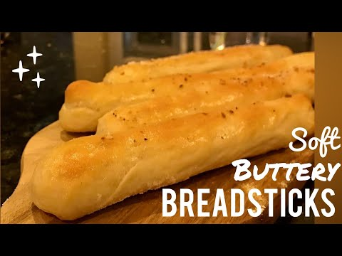 Soft Buttery Breadsticks (Olive Garden Copycat Recipe)