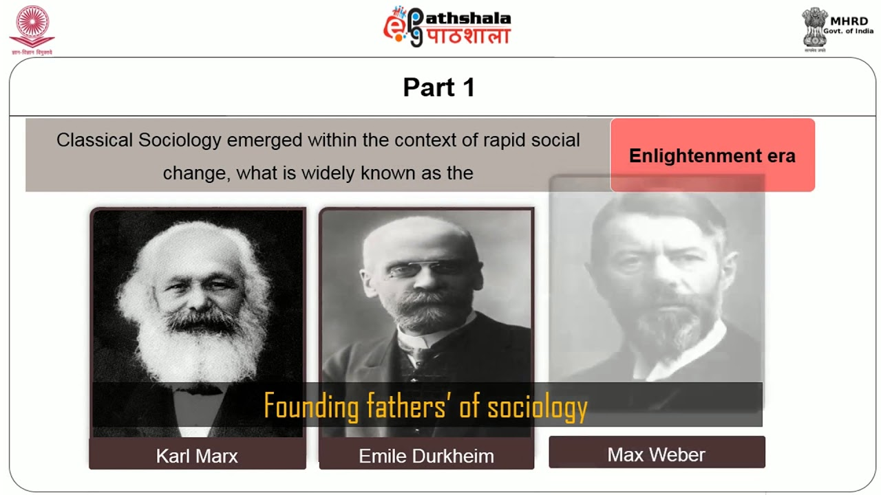 who was the founding father of sociology