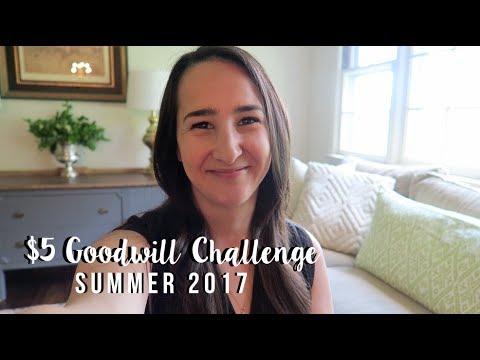$5 GOODWILL CHALLENGE | SUMMER 2017 🌞