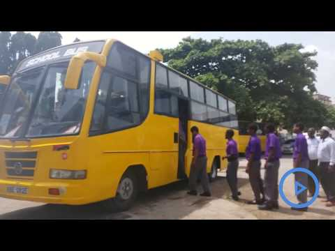Schools at the Coast comply with CS Matiang'i's directive to paint their buses yellow