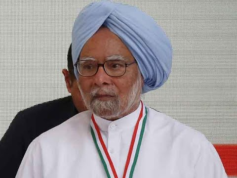 Dr Manmohan Singh casts his vote at Dispur polling booth in Assam