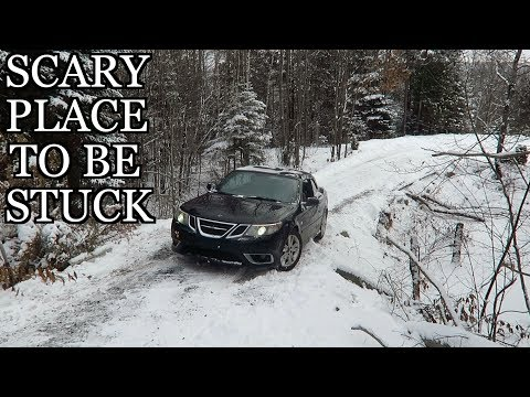 Stuck in the MONTREAL SNOW